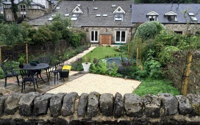 Garden grows up in Yorkshire