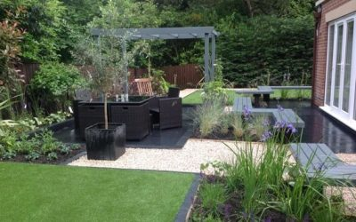 Stylish, practical, garden design and build – Burley in Wharfedale, Yorkshire