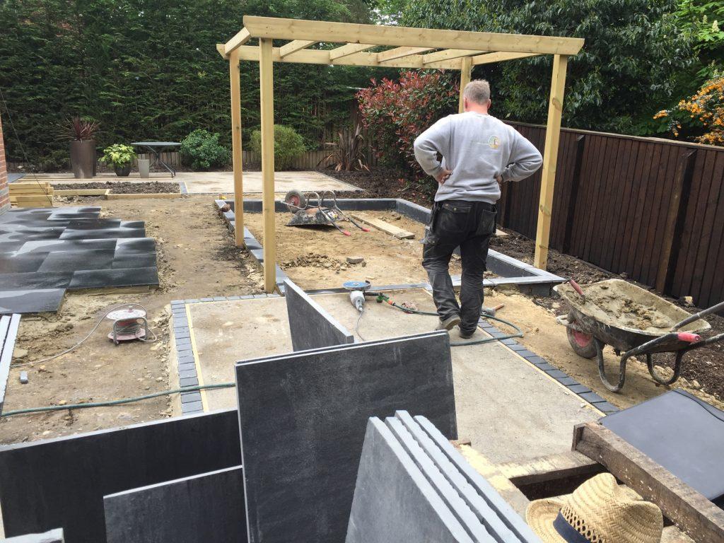 Garden design and build Yorkshire