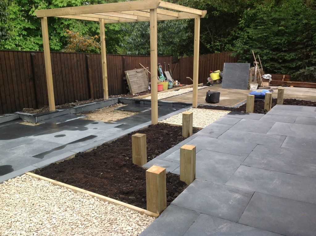 garden design and build leeds