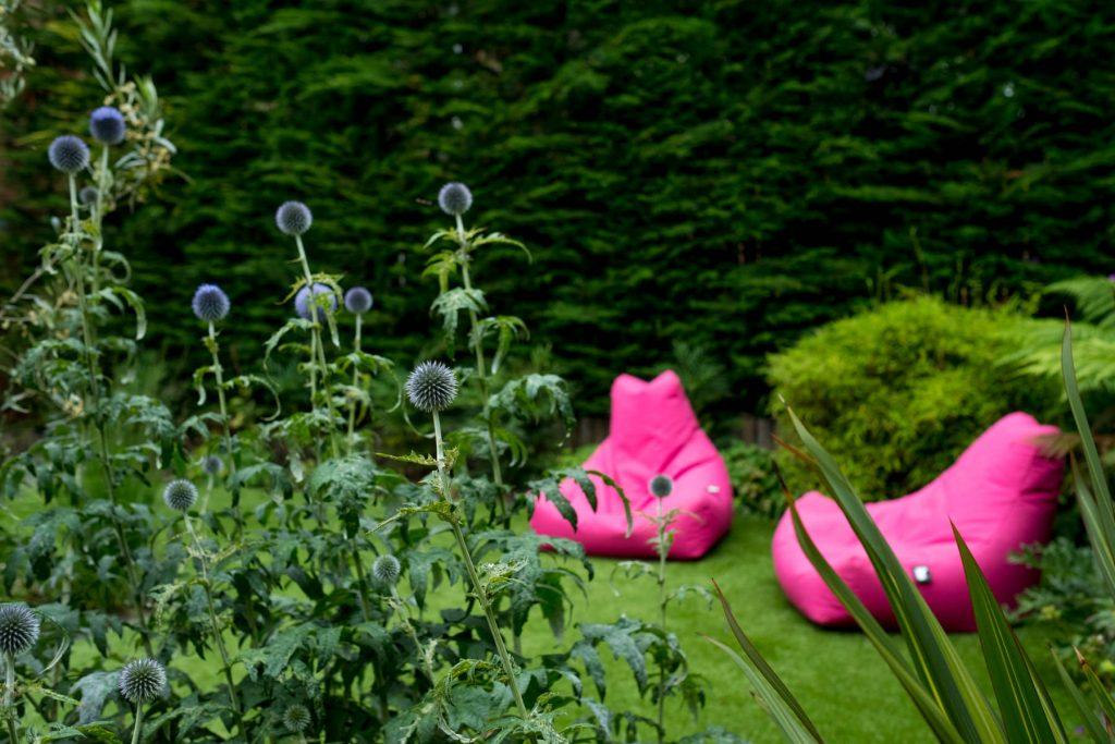 Modern garden design and build Leeds