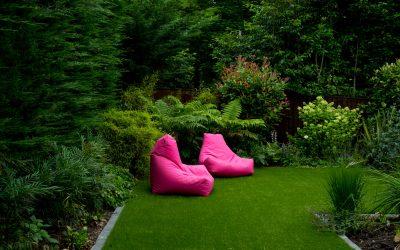 Cool Grey Contemporary Garden
