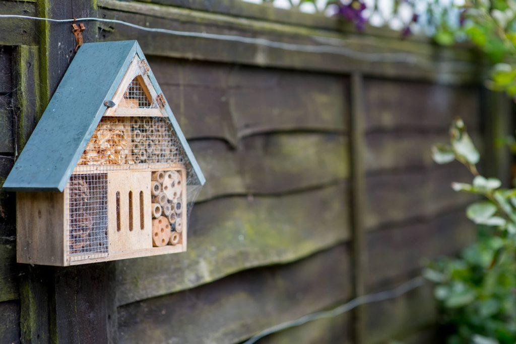 Insect house. Garden designa dn build, Leeds