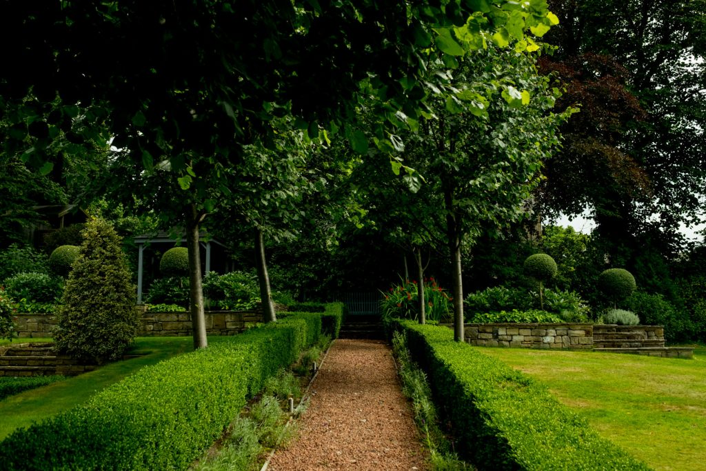 Large scale garden design and build, harrogate