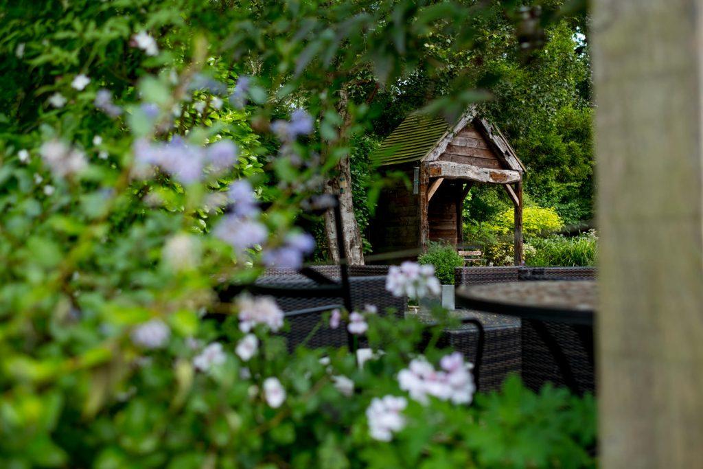 Garden folly. Garden design and build, harrogate