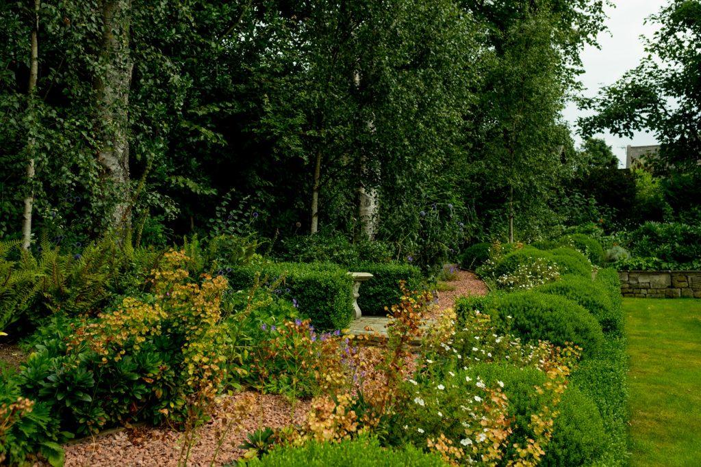 Woodland walk. Harrogate Garden design and build