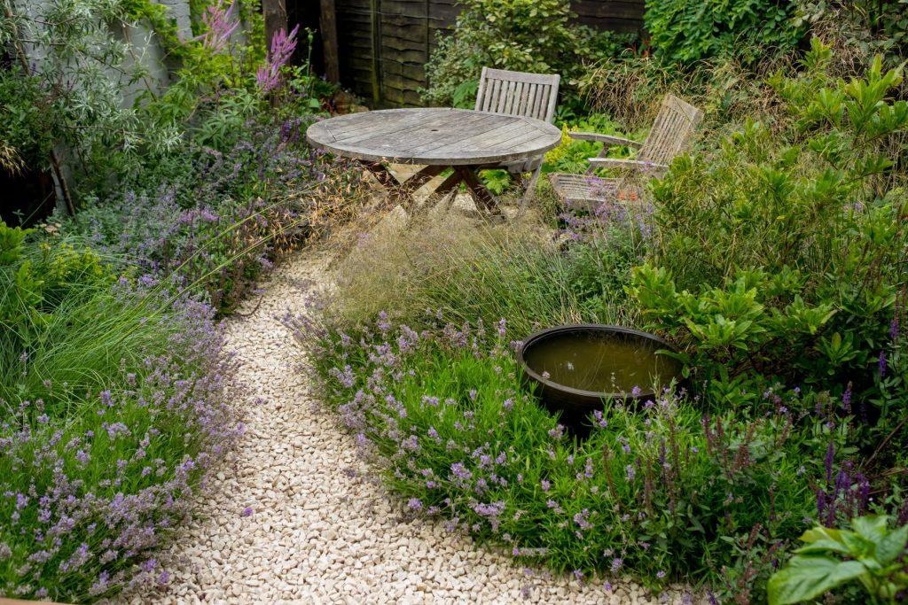 Beautiful small garden design. Leeds design and build