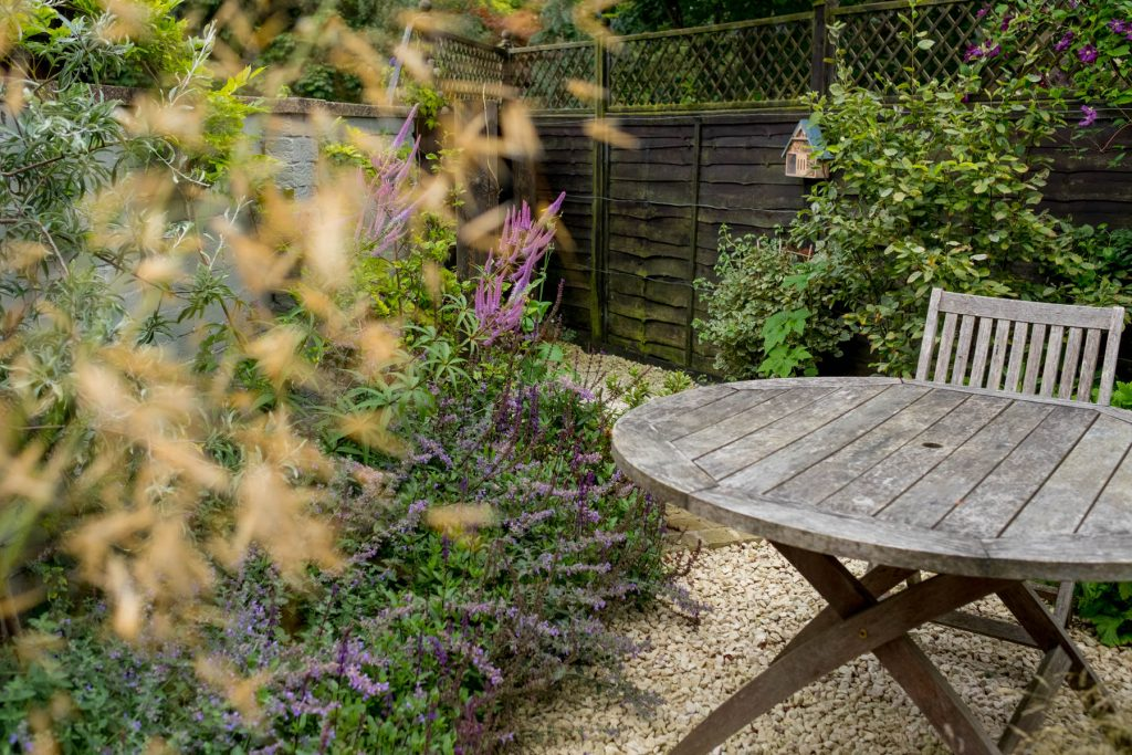 Small garden design and build. Yorkshire