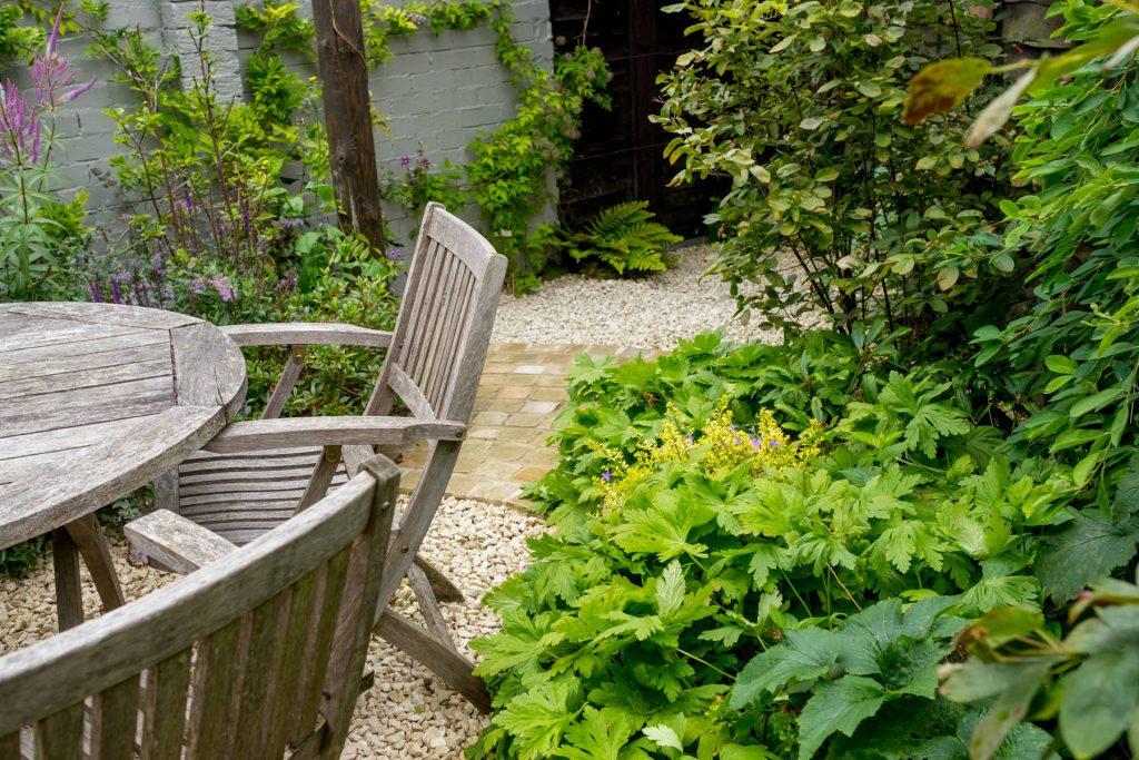 Small garden design.